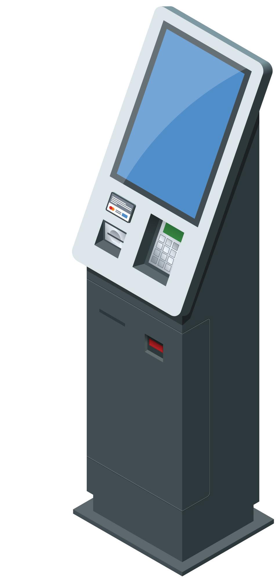 Animation of Self-Service Transaction Machine