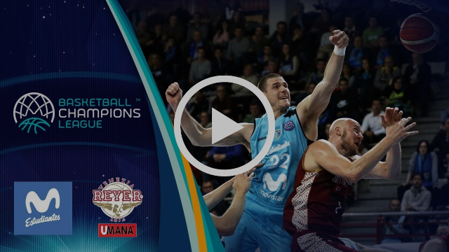 Movistar Estudiantes v Umana Reyer Venezia - Highlights - Basketball Champions League