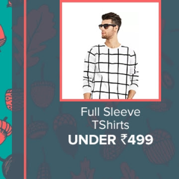 Full Sleeve T-Shirts under Rs.499