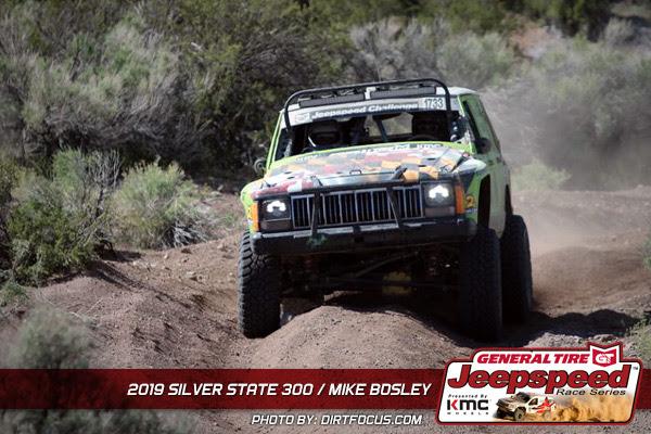 Mike Bosley, Jeepspeed, General Tire, KMC Wheels