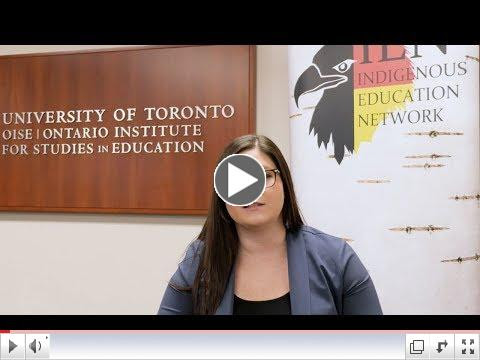 Lindsay DuPré on the Summit for Mentoring Indigenous Graduate Students