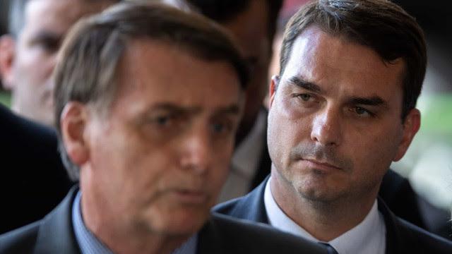 Bolsonaro sobre Flávio: queria um processo justo, mas isso não está sendo feito