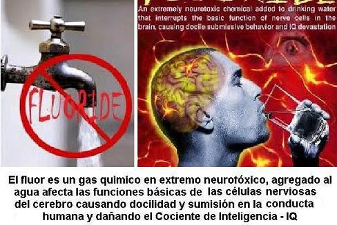 FLUOR PORTADA - Flúor en el agua potable. Afecta a la inteligencia y produce Cancer entre otras.