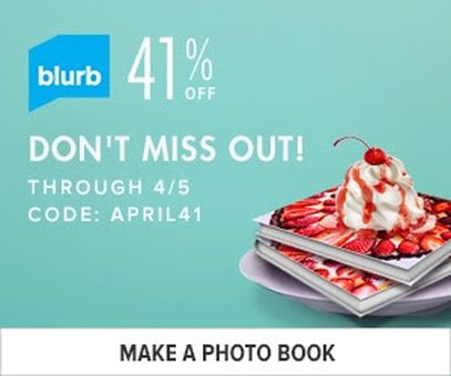 41% off Blurb Photo Books