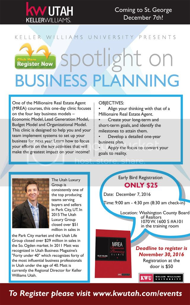 Business Planning Clinic - December 7th!