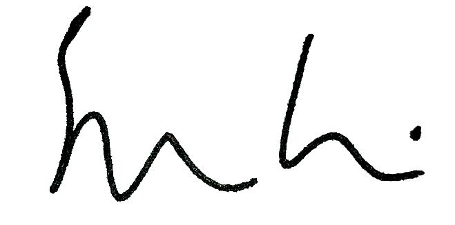 Steven Cain signature