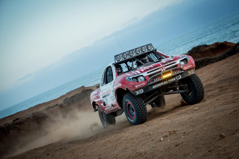 Honda Ridgeline, Jeff Proctor, Pat Dailey, PCI Race Radios, KC Hilites, General Tire, Bink Designs, Baja 500