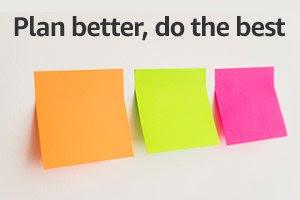 Plan better, do the best