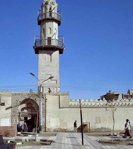 El Amarawy mosque in Minya, Egypt. (Wikipedia)