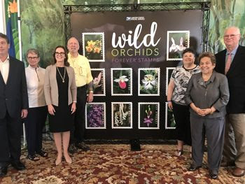 USPS Wild Orchids Ceremony