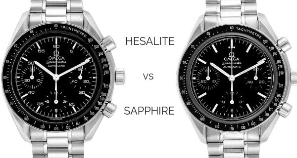 Speedmaster Hesalite vs Sapphire