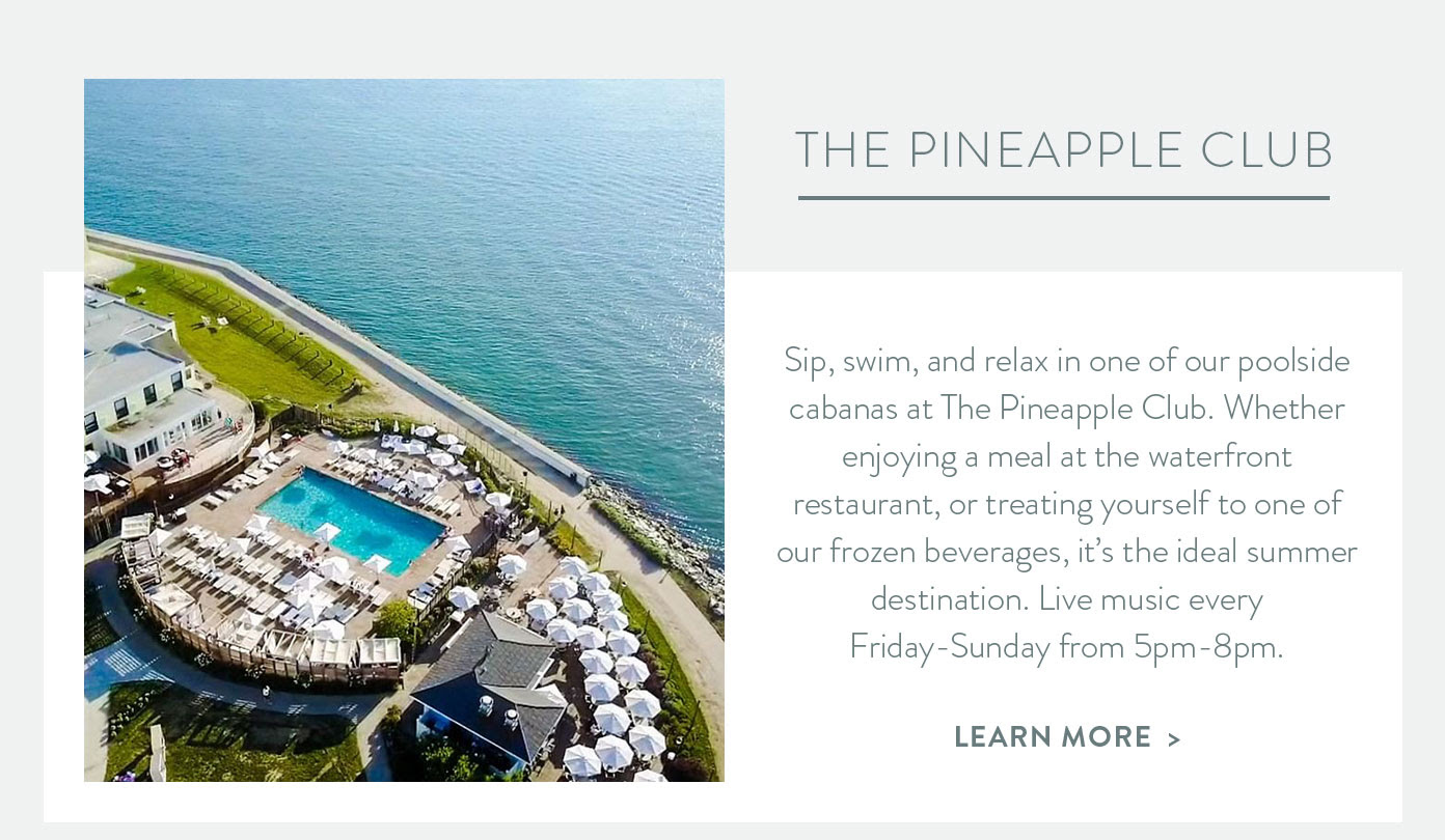 THE PINEAPPLE CLUB