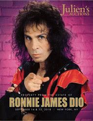 Ronnie Dio Auction Catalog