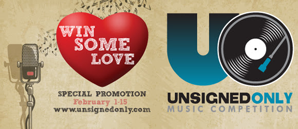 Win Some Love Promotion from Unsigned Only 2017 Music Competition