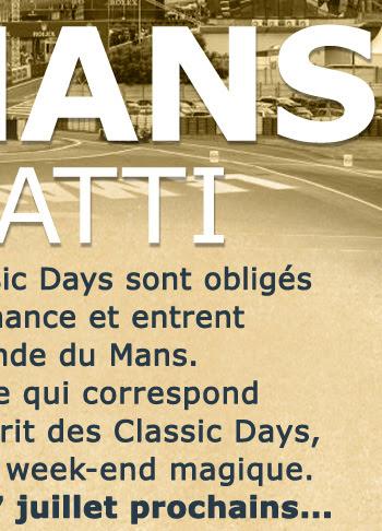CLASSICS DAYS 6 & 7 JUILLET 2019 AU MANS (72) Annnonce-le-mans_01_03_02