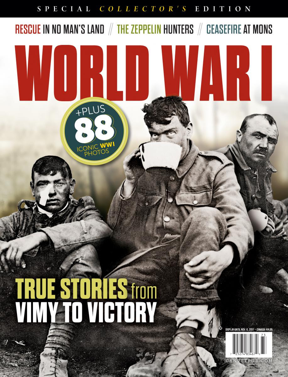 WW I : True stories from Vimy to Victory