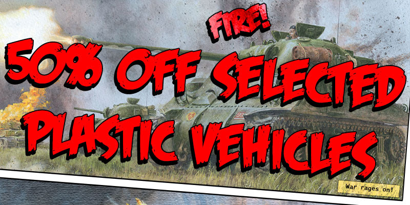 Black Friday Wheels of Steel 50% OFF Selected Plastic Vehicles