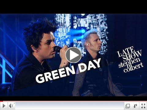 Green Day Performs 'Still Breathing'