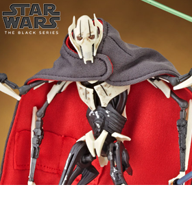 "STAR WARS: THE BLACK SERIES 6"" GENERAL GRIEVOUS"
