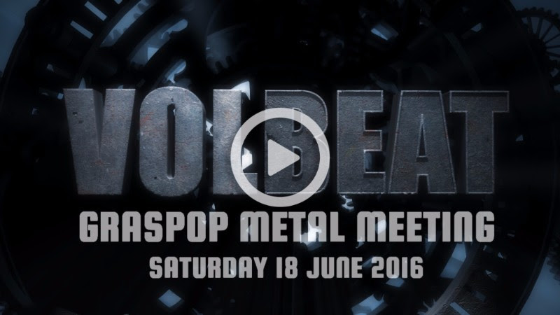 Volbeat Graspop 2016