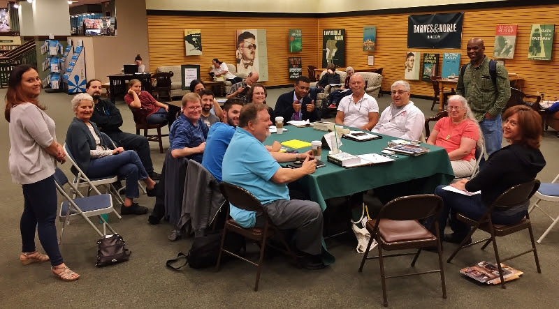 The Writers' Group meets at Barnes & Noble in Rochester Hills at 7:30 p.m. - click to go to website