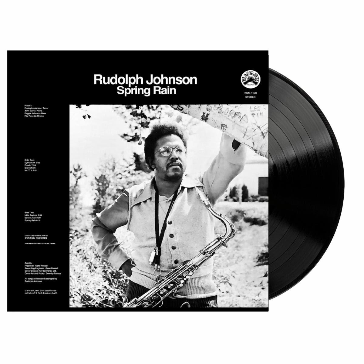 Rudolph Johnson Spring Rain Black Vinyl LP Packshot