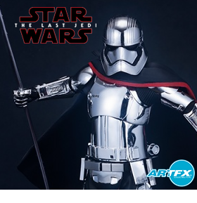 STAR WARS ARTFX CAPTAIN PHASMA STATUE