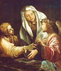 Święta Franciszka Rzymianka i jej Anioł Stróż
