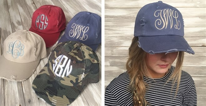 HOT!! Personalized Distressed.