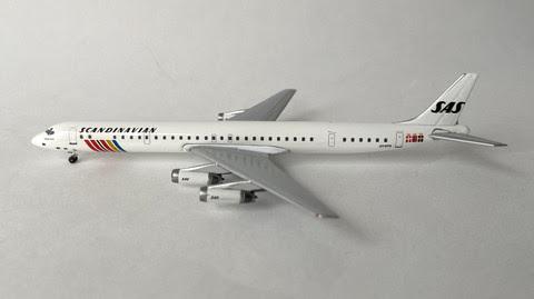 AC419756 | Aero Classics 1:400 | Douglas DC-8-63 SAS OY-KTG