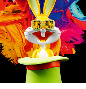 Looney Tunes Bugs Bunny Top Hat (Pop Art) Bust