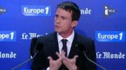 """La France """"en guerre contre le terrorisme"""" annonce Manuel Valls"""