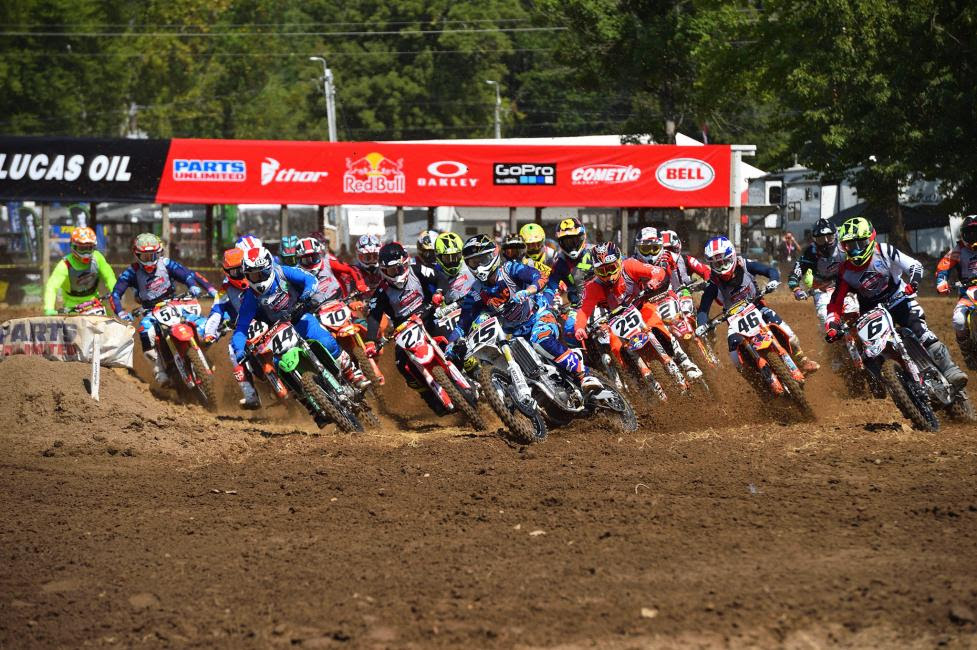The Junior 25+ class brought some of the hottest racing action of the day to the Ranch.