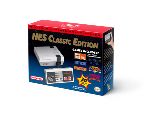 The Nintendo Entertainment System: NES Classic Edition console, anticipated to be one of the hottest ...