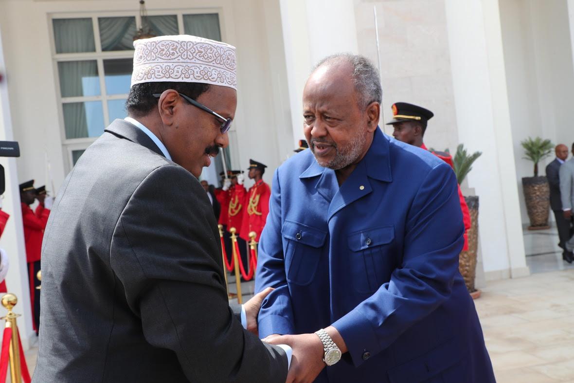 Madaxweynayaasha Somalia iyo Jabuuti oo kulmay-25