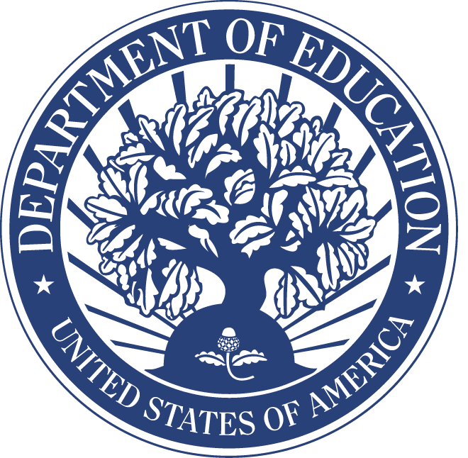 U.S. Department of Education Seal (Blue)
