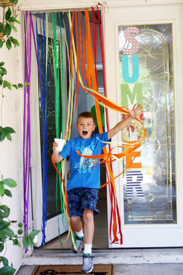 Ribbon curtain 3