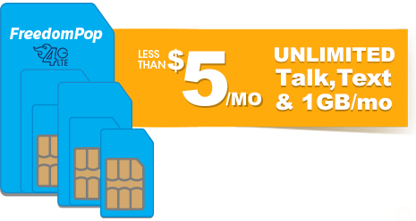 Less than $5/mo Unlimited Talk...