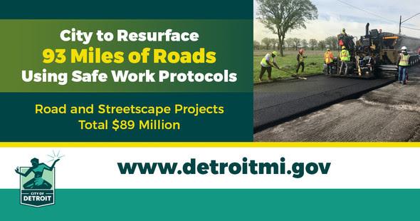 COVID DPW Road Construction 2020