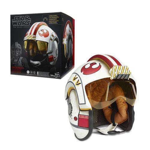 Image of Star Wars Black Series Luke Skywalker Electronic X-Wing Pilot Helmet