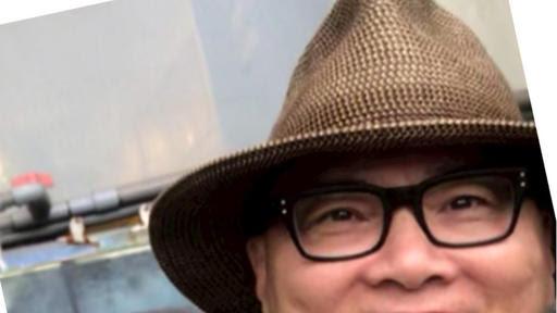 A selfie of spy Alexander Yuk Ching Ma
