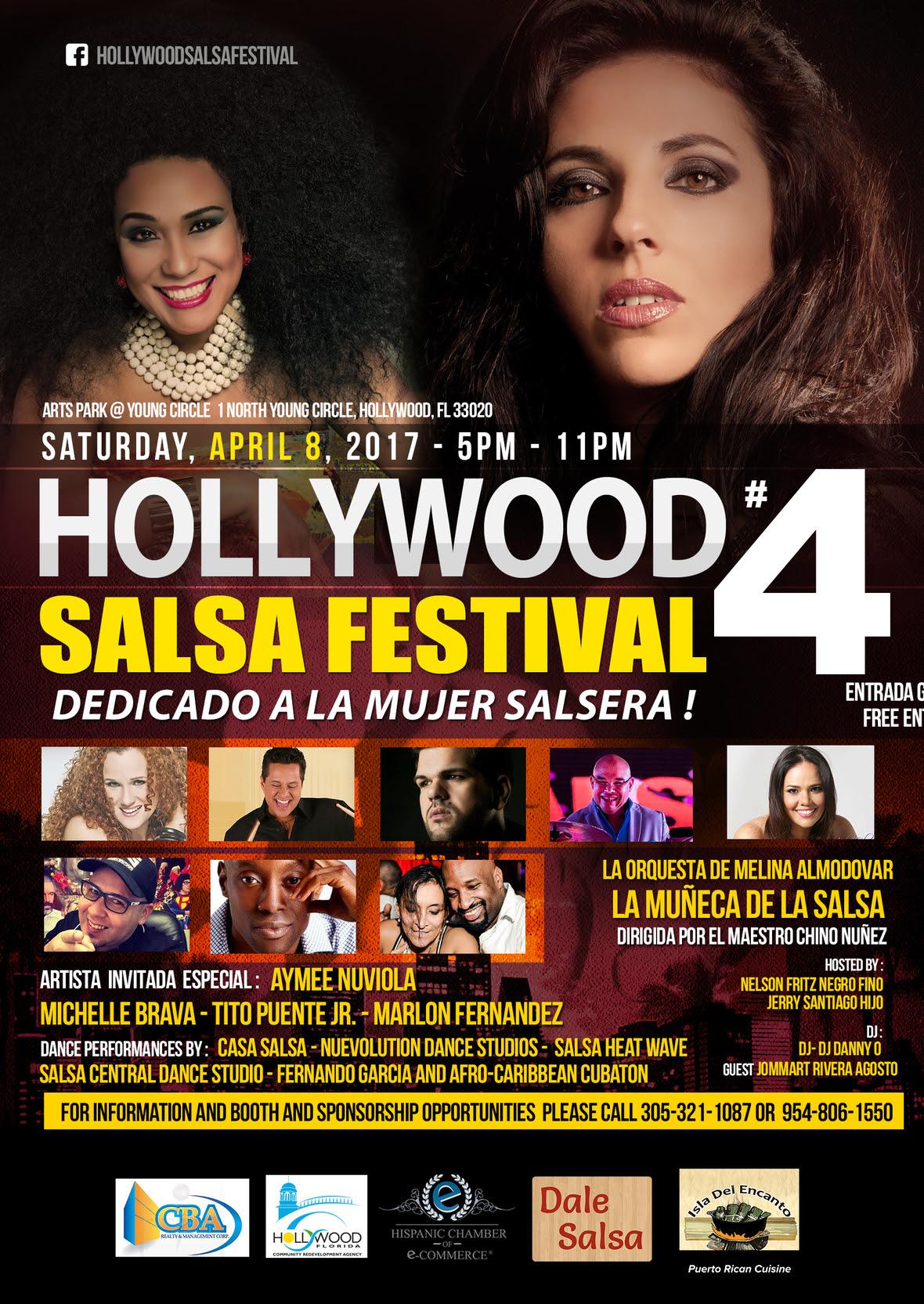 Flyer Final - Hollywood Salsa Fest