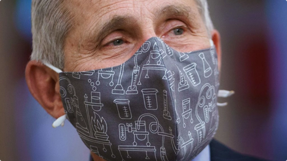 A Week After Saying 'Wear Two Masks', Fauci Says It 'Won't Make A Difference' Image-5