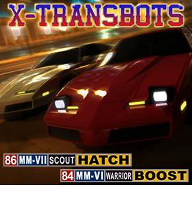 X-TRANSBOTS BOOST AND HATCH