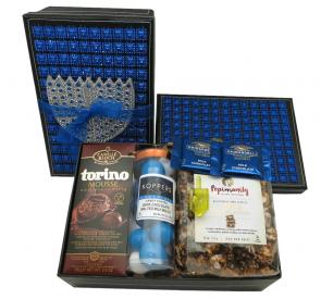 Festive Chanukah Chocolate Gift Set- FREE SHIPPING