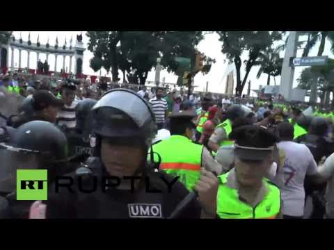 Ecuador: Thousands march against proposed tax reforms in Guayaquil  Hqdefault