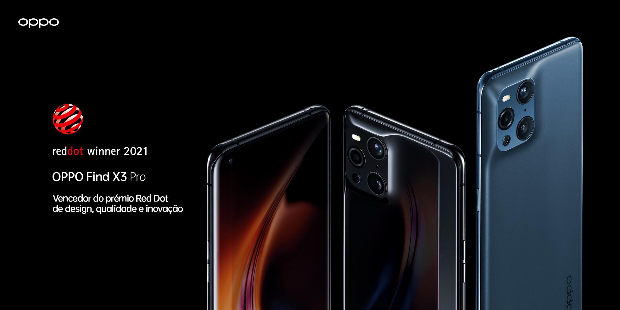 OPPO Find X3 Pro 5G ganha o Red Dot Award na categoria Product Design 1