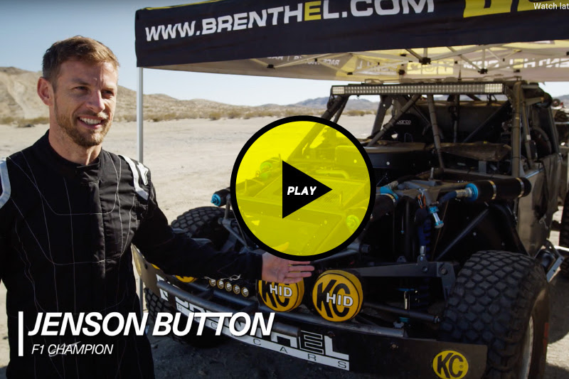 Jensen Button, Brenthel Industries, Brenthel 6100, Brenthel Spec Trophy Truck, F1 Champion