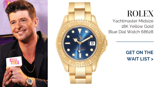 Yachtmaster Yellow Gold Blue Dial