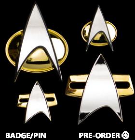 Star Trek Badges